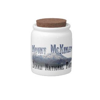 Alaska Denali National Park Mt McKinley Candy Dishes