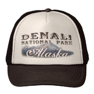 Alaska Denali National Park Mt McKinley Cap Trucker Hat