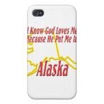 Alaska - dios me ama iPhone 4 protector
