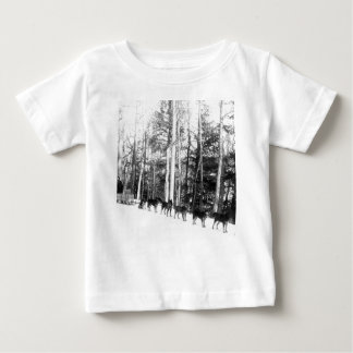 Alaska Dog Sledding Baby T-Shirt