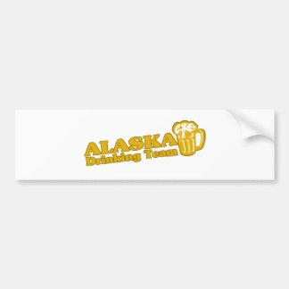 Alaska Drinking Team t shirts Car Bumper Sticker