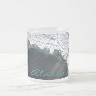 Alaska Dust Storm Frosted Glass Mug