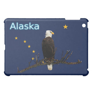 Alaska Eagle And Flag iPad Mini Case