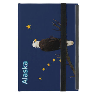 Alaska Eagle And Flag iPad Mini Cover