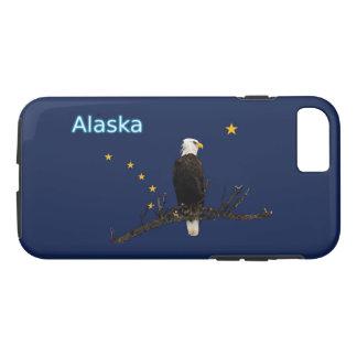 Alaska Eagle And Flag iPhone 7 Case