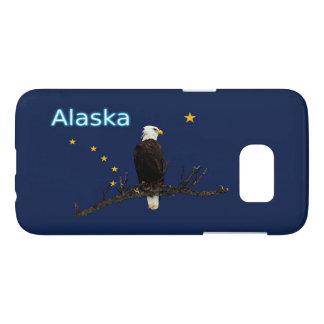 Alaska Eagle And Flag Samsung Galaxy S7 Case