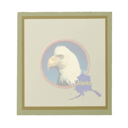 Alaska Eagle Bloc De Notas