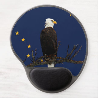 Alaska Eagle Gel Mouse Mat