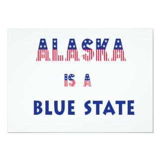 Alaska es un estado azul comunicado