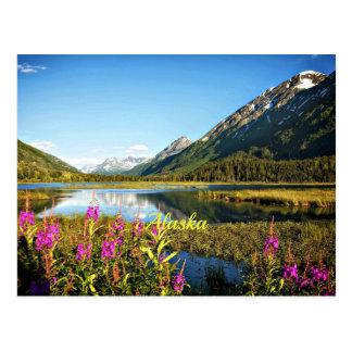 Alaska escénica, etiquetada tarjetas postales