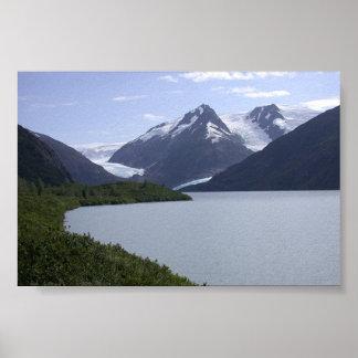 Alaska escénica póster