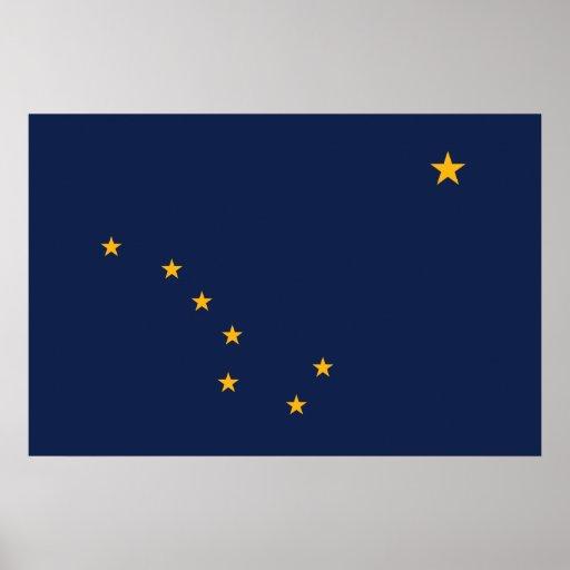 Alaska, Estados Unidos señala por medio de una ban Impresiones