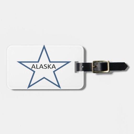 Alaska Etiquetas De Equipaje