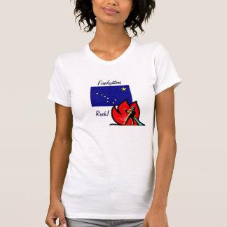 Alaska Firefighters Rock T-Shirt