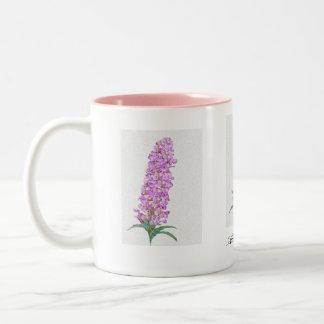 Alaska Fireweed coffeecup Two-Tone Coffee Mug