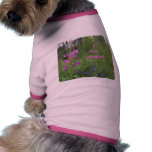 Alaska Fireweed Wildflower Doggie T Shirt