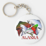 Alaska fish keychain