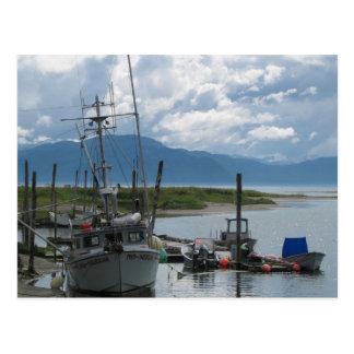 Alaska Fishing Boat Postcard