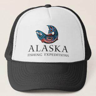 2c0aad3f477 Alaska Fishing Expeditions - Trucker Hat