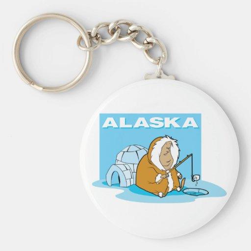 Alaska Fishing Keychains