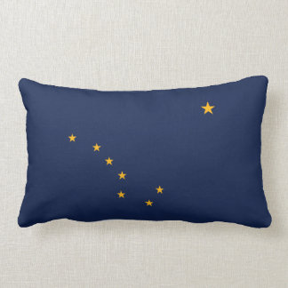 Alaska Flag American MoJo Pillow
