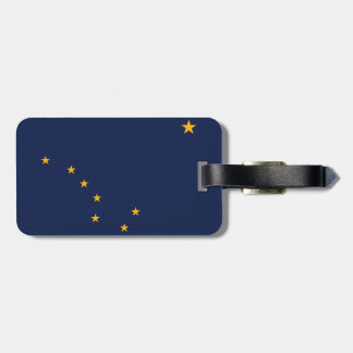 Alaska Flag Bag Tag