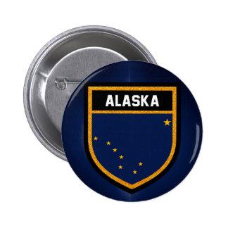 Alaska Flag Button