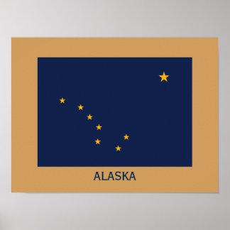 Alaska Flag Frameable Poster
