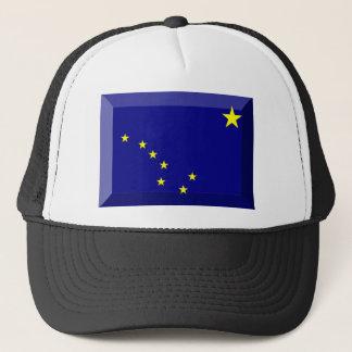 Alaska Flag Gem Trucker Hat