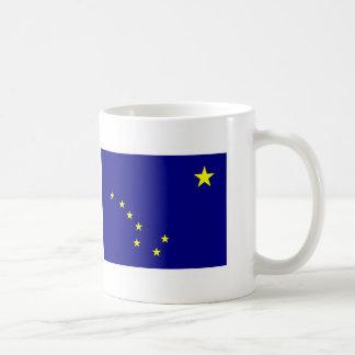 Alaska FLAG International Classic White Coffee Mug