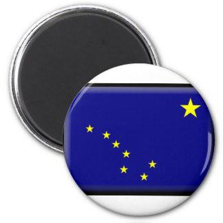 Alaska Flag Fridge Magnet