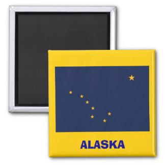 Alaska* Flag Magnet  / Alaska Sjunker Magneten Magnet