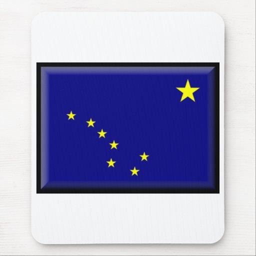 Alaska Flag Mouse Pad