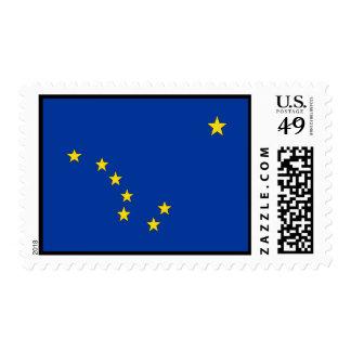 ALASKA FLAG POSTAGE
