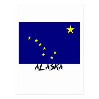 Alaska Flag Postcard