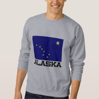 Alaska Flag Pullover Sweatshirt