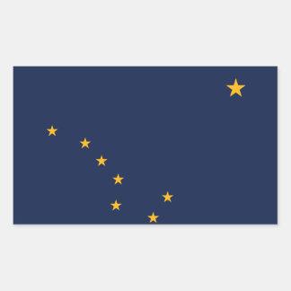 Alaska* Flag Sticker