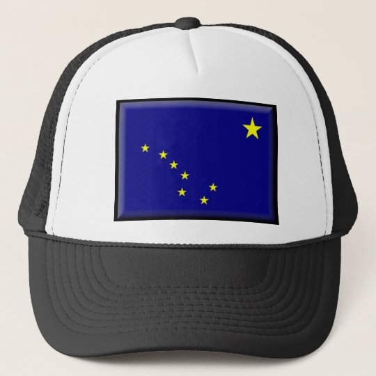 Alaska Flag Trucker Hat