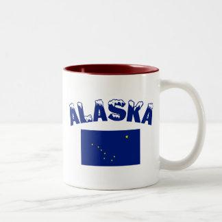 Alaska Flag Two-Tone Coffee Mug