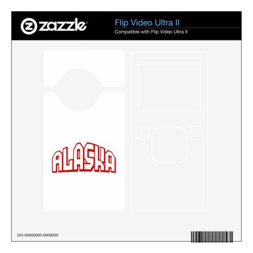 Alaska Flip Video Ultra II Skins