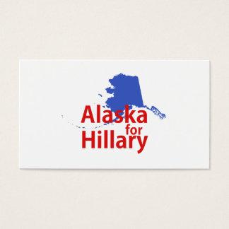 Alaska for Hillary Business Card