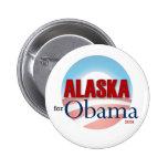 Alaska for Obama Buttons