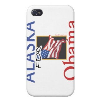 Alaska for Obama Election iPhone 4/4S Cover