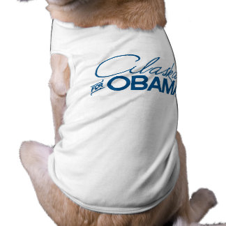 ALASKA FOR OBAMA -.png Pet T Shirt