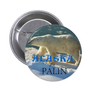 Alaska for Palin 2 Inch Round Button