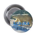 Alaska for Palin Pinback Button