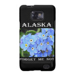 Alaska Forget-Me-Not Samsung Galaxy S2 Cases