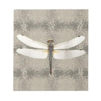Alaska Four Spot Skimmer Dragonfly Note Pad