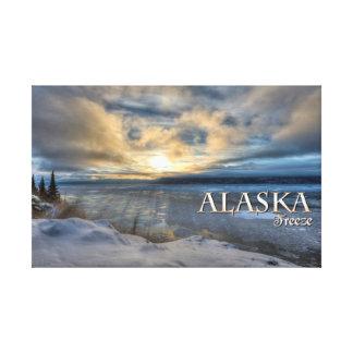 Alaska Freeze Canvas Print