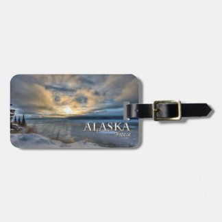 Alaska Freeze Luggage Tag